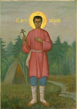 Икона мученика Николая Гусева